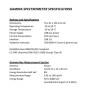 GAMMA SPECTROMETER DATA SHEET (2)